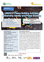 UNESCO Public Seminars Series: UNESCO Peace Building and Global Citizenship