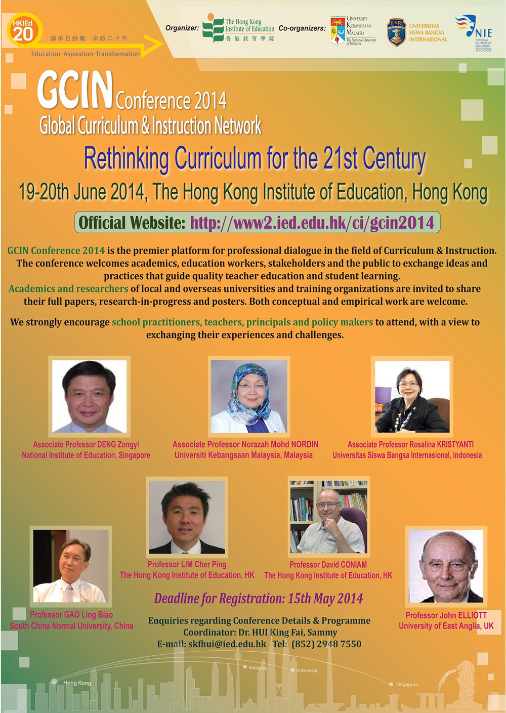 GCIN (Global Curriculum & Instruction Network) Conference 2014 -  Rethinking Curriculum for the 21st Century