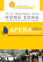 The Asia Pacific Educational Research Association (APERA) International Conference 2014