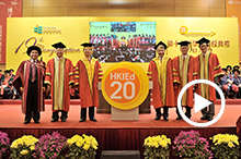 19th Congregation-cum-20th Anniversary Kick-off Ceremony